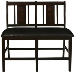 Dacosta Faux Leather Bench Winston Porter