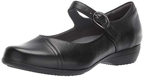 Dansko Women's Fawna Wide Mary Jane Flat 37 W EU ( US)