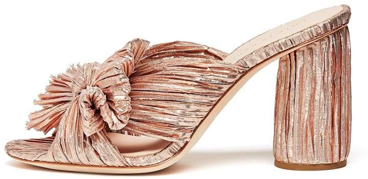 Loeffler Randall Penny Knot Mule in Rose Gold