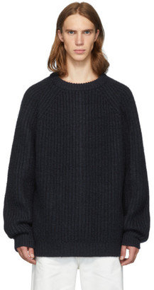 Marni Navy Wool Costan Sweater