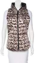 Obermeyer Leopard Print Hooded Vest