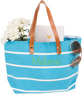 Cathy's Concepts CATHYS CONCEPTS Personalized Striped Tote
