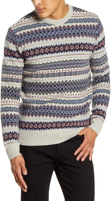 Barbour Case Fair Isle Wool Sweater
