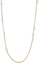 Laura Lee Jewellery Pearl Sleeper Necklace