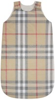 Burberry Pale Beige Check Baby Sleep Bag