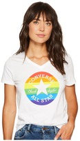 Converse Pride Rainbow Chuck Patch Tee Women's T Shirt