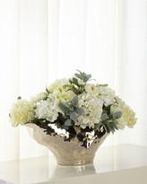 John-Richard Collection John Richard Collection Silver Moonlight Floral Arrangement