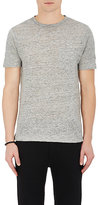 Rag & Bone Men's Owen Linen T-Shirt-LIGHT GREY