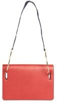Roksanda Ring Wave-strap leather shoulder bag