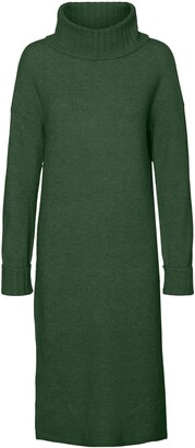 Vero Moda Gaiva Turtleneck Long Sleeve Sweater Dress
