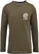 Balmain Embroidered Lion T-shirt