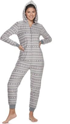 So Juniors' One-Piece Pajamas