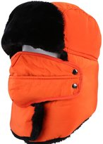 Drasawee Unisex Warm Winter Fluffy Mouth Muffled Trapper Ear Flap Hat
