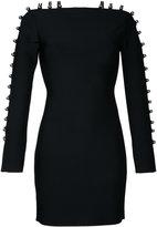 David Koma strappy sleeves mini dress