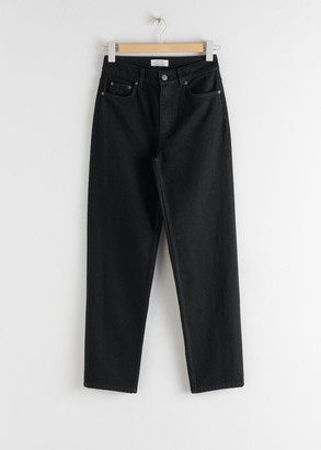 And other stories Straight High Rise Jeans