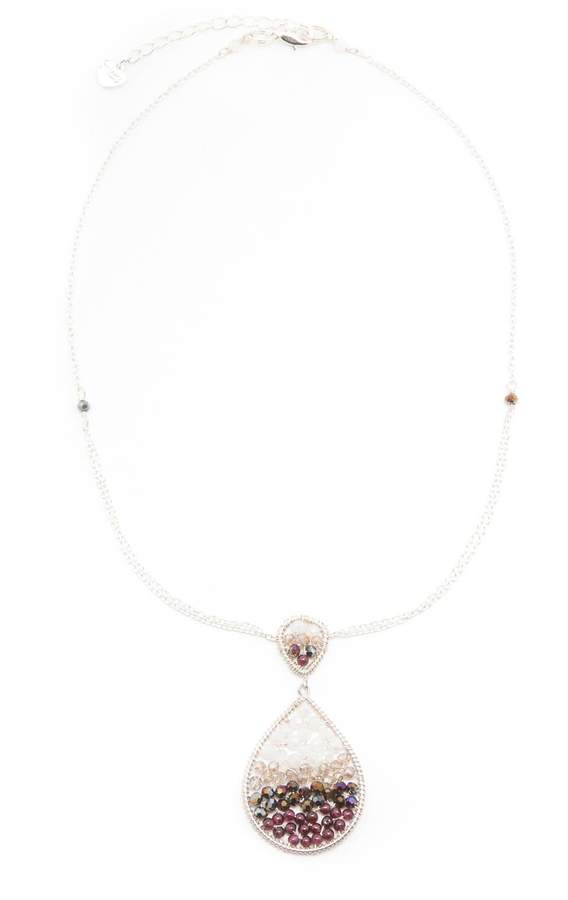 Nakamol Double Teardrop Necklace
