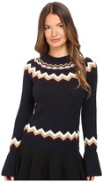 RED Valentino Lopi Motif Sweater Women's Sweater