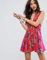Free People Thought I Was Dreamin Floral Mini Dress