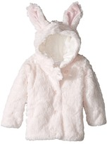 Mud Pie Plush Bunny Coat (Infant)