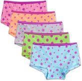 Fruit of the Loom Girls 6-16 5-pk. Signature Ultra Soft Boy Short Panties