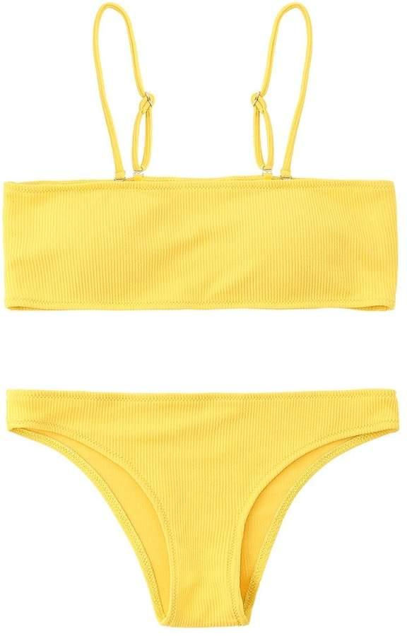 16f7051dd2e44 Bandeau Padded Bra Swimsuit - ShopStyle Canada