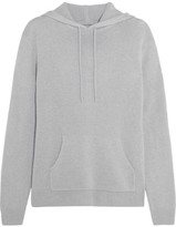 Dion Lee Cutout Cashmere Hooded Sweater - Light gray