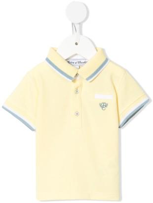 Tartine et Chocolat TC Crest logo polo shirt