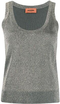 Missoni Metallic Threaded Vest Top