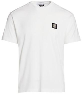 Stone Island Classic Cotton Logo T-Shirt