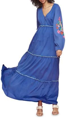Roller Rabbit Kuzu Embroidered Kiana Dress