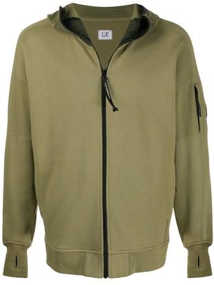 C.P. Company Zipped Long-Sleeve Hoodie