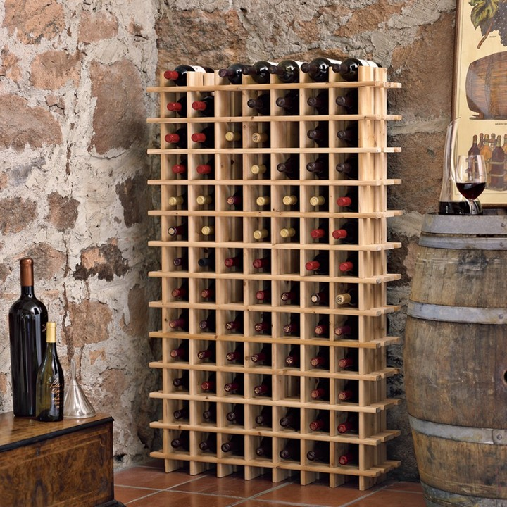 Williams-Sonoma Pine Wine Cellar Racks