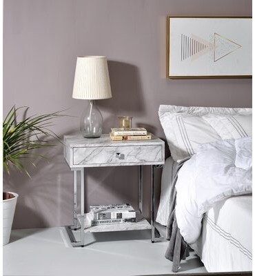 Marble Night Stand Shop The World S Largest Collection Of Fashion Shopstyle
