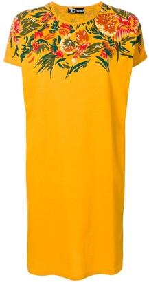 Kansai Yamamoto Pre-Owned flower design T-shirt dress