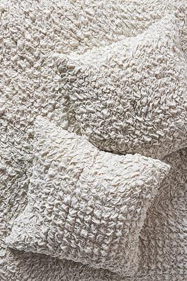 Anthropologie Textured Blythe Jersey Euro Sham By in Grey Size EURO SHAM