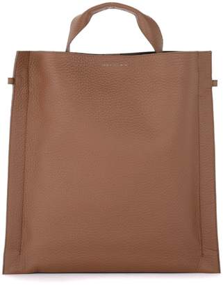Orciani Bag In Caramel Textured Leather