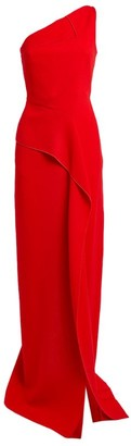 Roland Mouret Istana One-Shoulder Gown