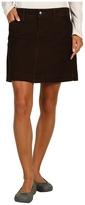 Mountain Hardwear Tunara Cord Skirt (Cordovan) - Apparel