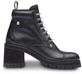 Miu Miu leather ankle booties