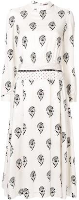 Sueundercover Printed Midi Dress