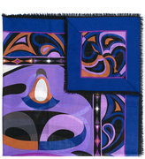 Emilio Pucci printed scarf - women - Silk/Wool - One Size