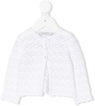Christian Dior Open Stitch Cardigan