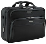 Briggs & Riley 'Large' Ballistic Nylon Expandable Briefcase - Black