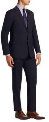 Giorgio Armani Shadow Stripe Two-Piece Suit