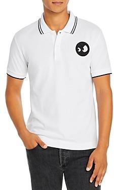 McQ Cotton Slim Fit Logo Polo Shirt