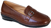 Brown Buckle Loafer