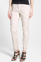 NYDJ &Clarissa& Colored Stretch Skinny Ankle Jeans (Petite)