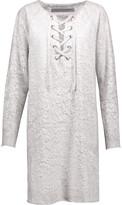 Raquel Allegra Printed cotton mini dress