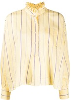 Etoile Isabel Marant striped print blouse