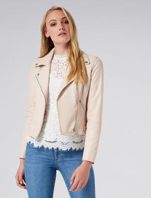 Ever New Esther Leather Biker Jacket